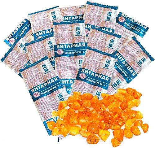 120 Tabletten SPAR SET Tabletten Bernsteinsäure Hochdosiert 100 mg Amber Acid Succinic Янтарная кислота (120 Tabletten)