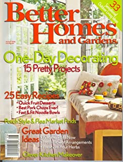 Better Homes & Gardens, August 2006 Issue
