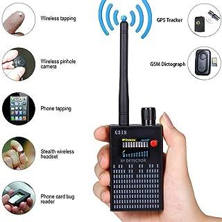 Anti-Spy Signal Detector GPS Signal Detector Spy Bug Camera Wireless Detector Spy Detector Device GPS RF Scanner Finder GSM Device Finder