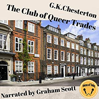 The Club of Queer Trades audiobook cover art