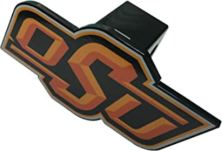 AMG Auto Emblems NCAA Solid Metal Custom Shaped Hitch Cover (Oklahoma State)