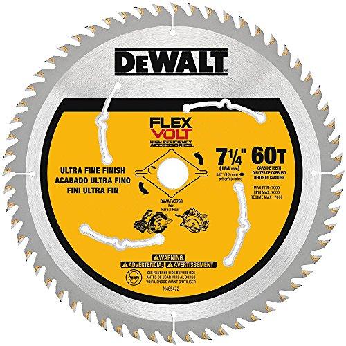 DEWALT DWAFV3760 Flexvolt 60T Circular Saw Blade