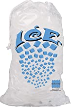 Perfect Stix Icebag10DS-50 Ice Bag with Draw String Enclosure, 10 Lbs (50/Pk) (Pack of 50)