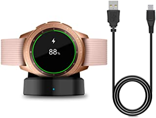 Charger for New Samsung Galaxy Watch 42mm/46mm, Upgraded Charging Cradle Dock for Samsung Galaxy Watch SM-R800/R810/R815 S...