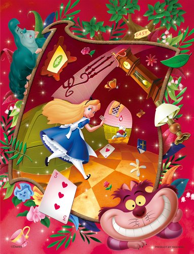 41-97 chasing Disney jigsaw puzzle bubble wrap 500 piece White Rabbit (japan import)