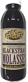 Golden Barrel Blackstrap Molasses, 16 Fl. Oz. (1 Pint), Narrow Mouth Plastic Bottle