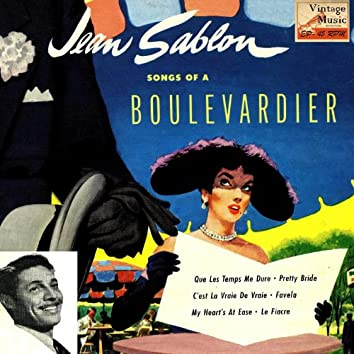 """Vintage French Song Nº 62 - EPs Collectors, """"Songs Of A Boulevardier"""""""