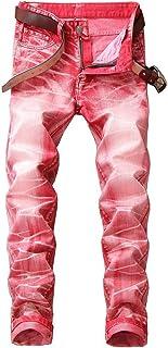 pipigo Big Boys Slim Fit Denim Jeans Washed Stretch Pants