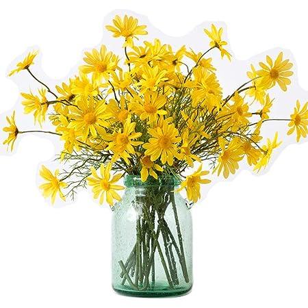 Arrangement Supplies Fake Flowers For Mason Jar Daisy Wildflowers For Vase Flowers For Table Centerpiece