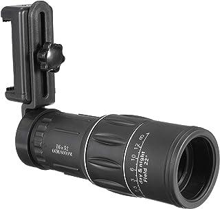 16x52 العالمي المشي لمسافات طويلة الهاتف كاميرا العدسات زووم التلسكوب الأحادي البصري + مشبك