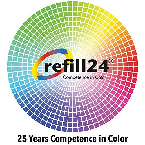 refill24 Kit de Recarga Compatible para Cartuchos de Tinta Serie 29 / 29XL Auto-reseteables para impresoras Expression Home XP- Negro y Color + Cartuchos Recargables y Accesorios + 400 ML Tinta