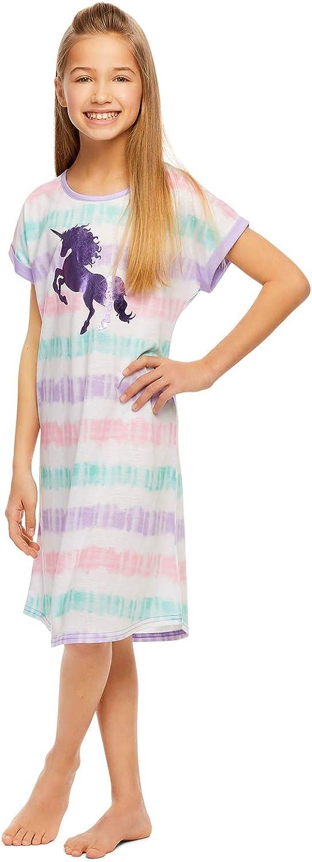 Girls Sleep Night Gown - Foil Print Design