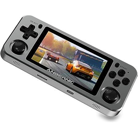 RG351M Open-Source-Handheld Retro Game Retro-Spielekonsole IPS-Bildschirm Handheld-Spielekonsole 128 GB Open-Source-Linux-System PSP BSTQC Handheld-Spielekonsole