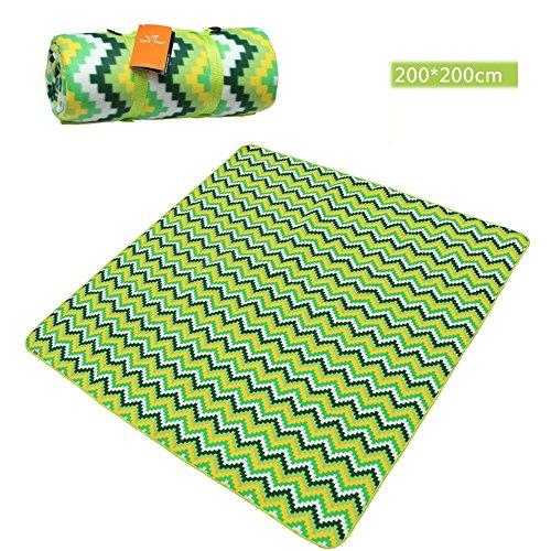 COCO 200 * 200 cm buiten koude camping matten tenten matten multi-persoon waterdichte mat riemen