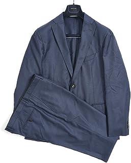 [ボリオリ] K.JACKET ケージャケット テーラード スーツ 2Bシングル 春夏 3シーズン メンズ ヴァージンウール 100% ネイビー 無地 イタリア ブランド アンコンジャケット 【並行輸入品】