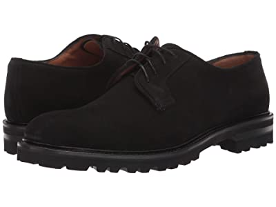Aquatalia Leon (Black Suede) Men