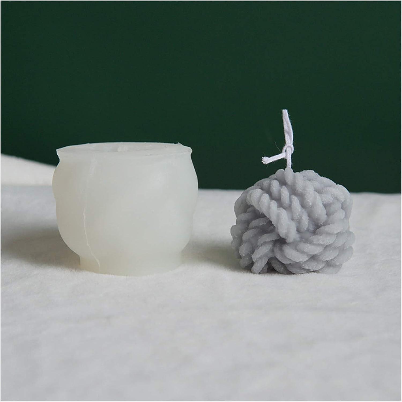 San Jose Mall JINYAWEI Candle Moulds Yarn Ball Finally resale start Silicone Winter Mold Warm Simul