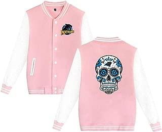 Carolina Panthers Sportswear Jacket Men Women Bomber Jacket,Black,