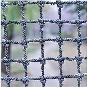 HWJ Kids Stair protection Net Window Blocking net Safe Net outdoor Climbing Net Rope Cargo Netting Cut off netting Child Anti-fall Net Rope Net  Color 20cm-14mm  Size 3m 6 6 9 8ft
