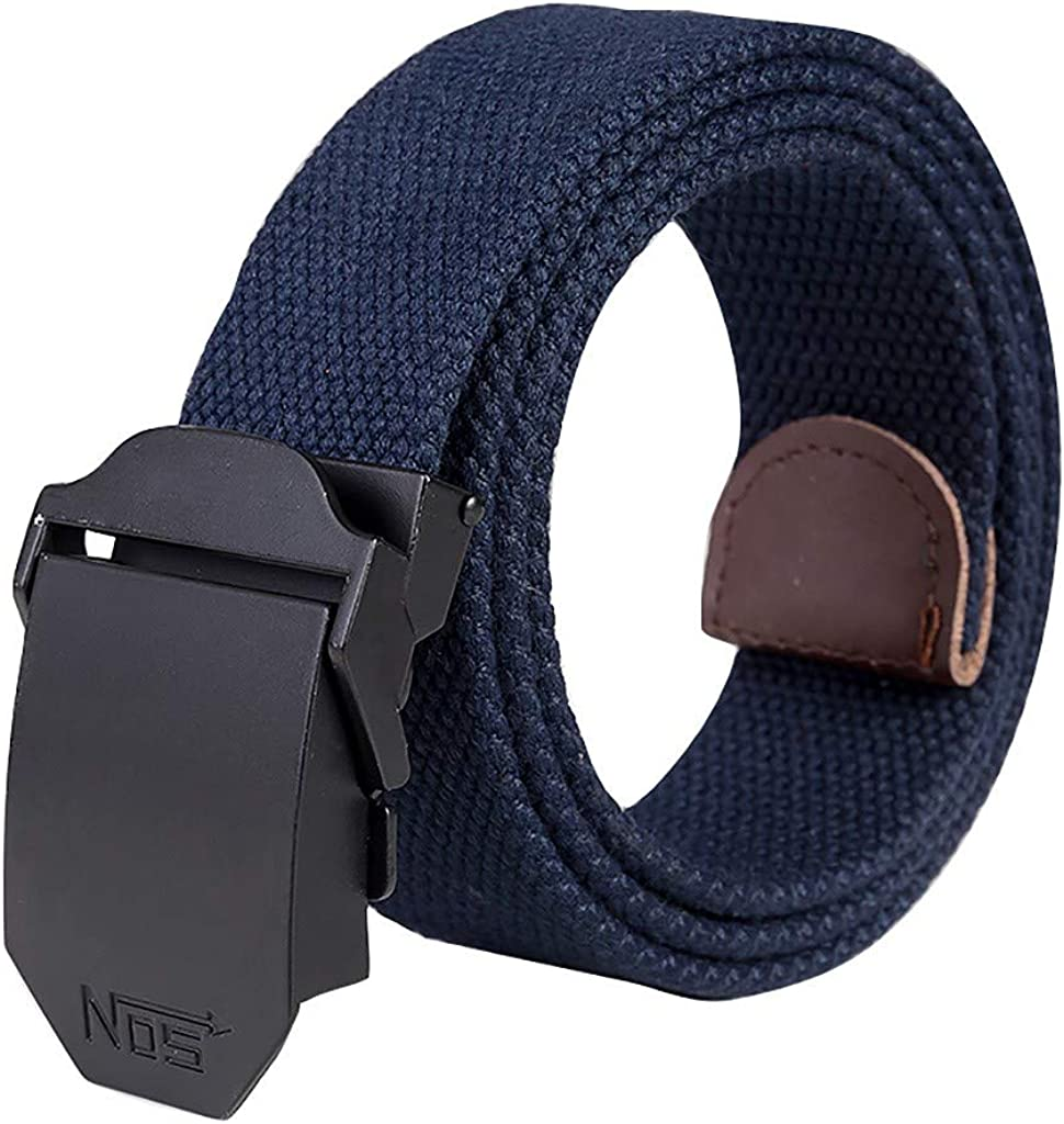 JHGH New color Fashion Unisex Sports Casual Outdoor Belt Canvas Alloy Store Auto