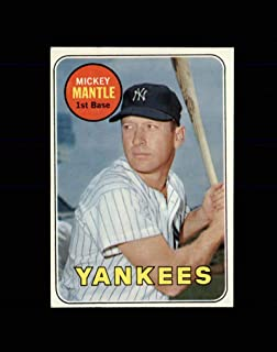 1969 topps 500 mickey mantle