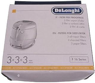 set da 3 nero vhbw filtro di ricambio - ai carboni attivi sostituisce Seb//Tefal XA500024 per friggitrice