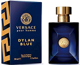 Dylan Blue Pour Homme by Versαce Eau de Toilette Spray For Men 1.7 OZ. / 50 ml.