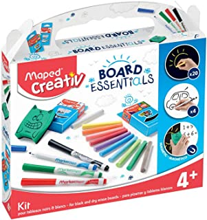 Maped Kit Creativ Blackboard-White, Multicolour (907102