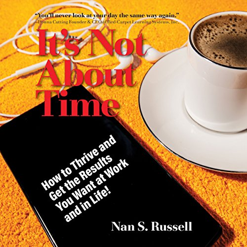 It's Not About Time audiobook cover art