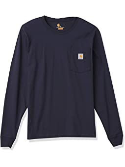 Carhartt Relaxed Fit Heavyweight Long-sleeve Hardhat Graphic T-shirt