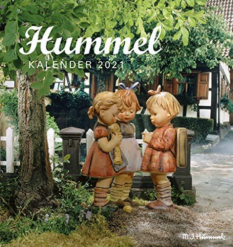 Hummel 2021 - Postkarten-Kalender - Kalender-mit-Postkarten - zum-raustrennen - 16x17