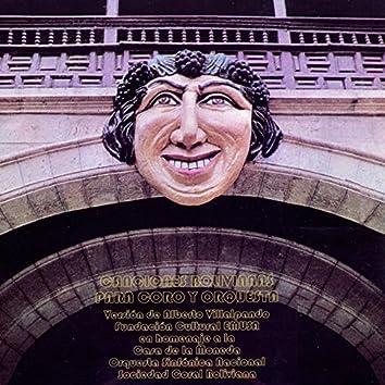 Canciones Bolivianas para Coro y Orquesta | Homenaje a la Casa de la Moneda