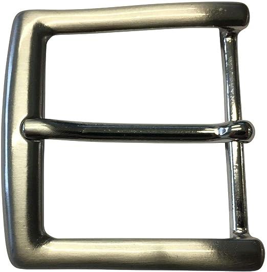 F/ür Wechselg/ürtel bis zu 4cm Breite Dorn-Schlie/ße Brazil Lederwaren G/ürtelschnalle 4,0 cm Buckle Wechselschlie/ße G/ürtelschlie/ße 40mm Massiv