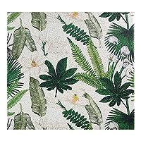 ホーム滑り止めカーペット、緑の植物シルクサークルお手入れが簡単なフットパッドラグ、廊下のリビングルームのバスルームに適しています 0126T(Size:60*90cm,Color:C)
