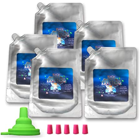 Ice Pack for Lunch Box Freezer Packs - high Performance 18 Degree Fahrenheit Using Phase Change Science to Achieve 8-10 Hour Cooling Long-Lasting - Lasting Ice Packs for Your Lunch or Cooler Bag