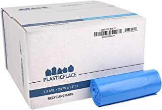 Plasticplace 12-16 Gallon Recycling Bags - 24