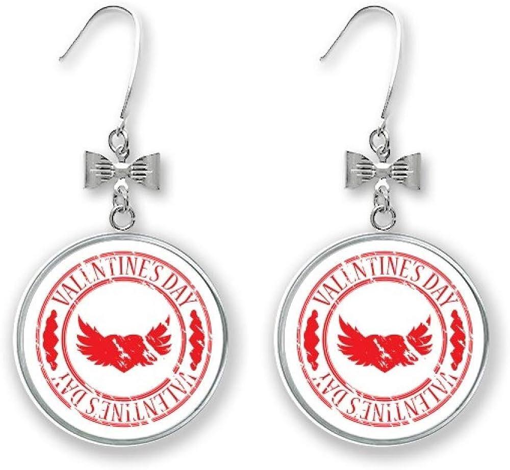 Red Postmark Valentine's Ranking TOP5 Day Wings Drop Ranking TOP4 Bow Pierce Earrings Stud