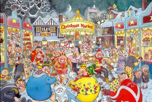 Wasgij Christmas 6 - Rompecabezas de 1000 Piezas con Texto en inglés A Very Merry Christmas