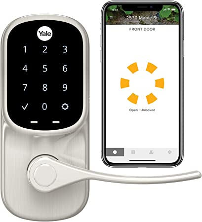 Yale Assure Lever Smart Lock - Works with Yale Access App