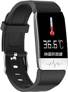 MUXIN Reloj Inteligente, Smartwatch Impermeable Pulsera Actividad 1.3 Pulgada con Monitor De Ritmo Cardíaco, Contador Inteligente De Calorías, Podómetro, Reloj Actividad para Android/iOS