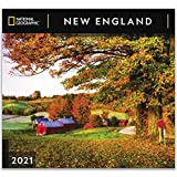 National Geographic New England 2021 Wall Calendar