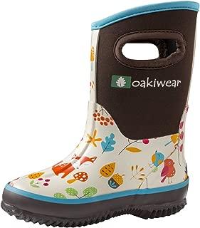 Kid's Neoprene Rain Boots, Snow Boots, Muck Boots