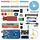 Keywish for Arduino mega 2560 Scratch Starter Kit,Super Base Kit for ATmega328P with 15 Lessons Tutorial Compatible with Arduino IDE Mixly Scratch Mblock Graphical Programming
