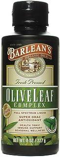 Olive Leaf Complex Peppermint - Barlean's - 8 oz - Liquid