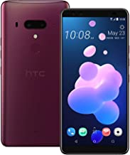 HTC U12 Plus (2Q55100) 6.0 inchs with 6GB RAM / 128GB Storage, (GSM ONLY, NO CDMA) Factory Unlocked International Version No-Warranty Cell Phone (Flame Red)
