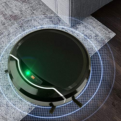 【 】 Wi-Fi Wet Dry Vacuuming Robot Vacuum, Robotic Cleaner, Strong Suction for Living Room & Floating Dust & Home Use & Pet Hair