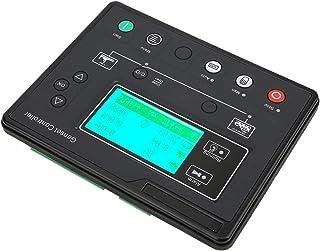 Oumefar Controlador de generador de 1Hz-10KHz Arranque/Parada automáticos Controlador de Grupo electrógeno de 0.5-70V Tecnología de integración Estable para un Solo Grupo electrógeno
