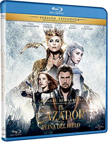 Las Crónicas De Blancanieves: El Cazador Y La Reina Del Hielo [Blu-ray]