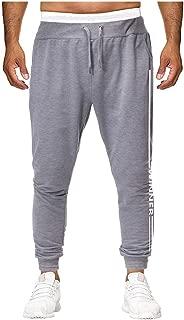 IHGTZS Pants for Men, Men Fashion Pure Color Overalls Casual Pocket Sport Work Casual Trouser Pants