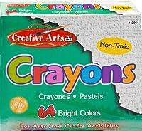 Charles Leonard クレヨン アソートカラー 64 Crayon Box